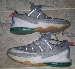 01e105de5c59 Nike Lebron 13 Low Stealth White Teal 831925-016 Mens Size 8.5 ONLY ...