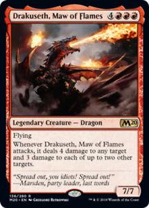 4x-Drakuseth-Maw-of-Flame-NM-Mint-English-Core-Set-2020-MTG-Magic