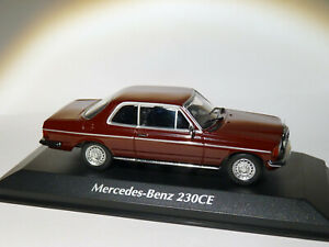 Mercedes-benz-230ce-w123-1976-to-1-43-minichamps-maxichamps