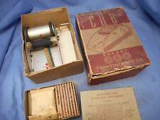 Vintage Cub Toy Rotary Printing Press Printer Mechanical USA