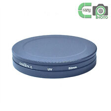 52mm UV CPL ND Lens Filter Protection Case Box for Kenko Hoya / 52mm Lens Cap