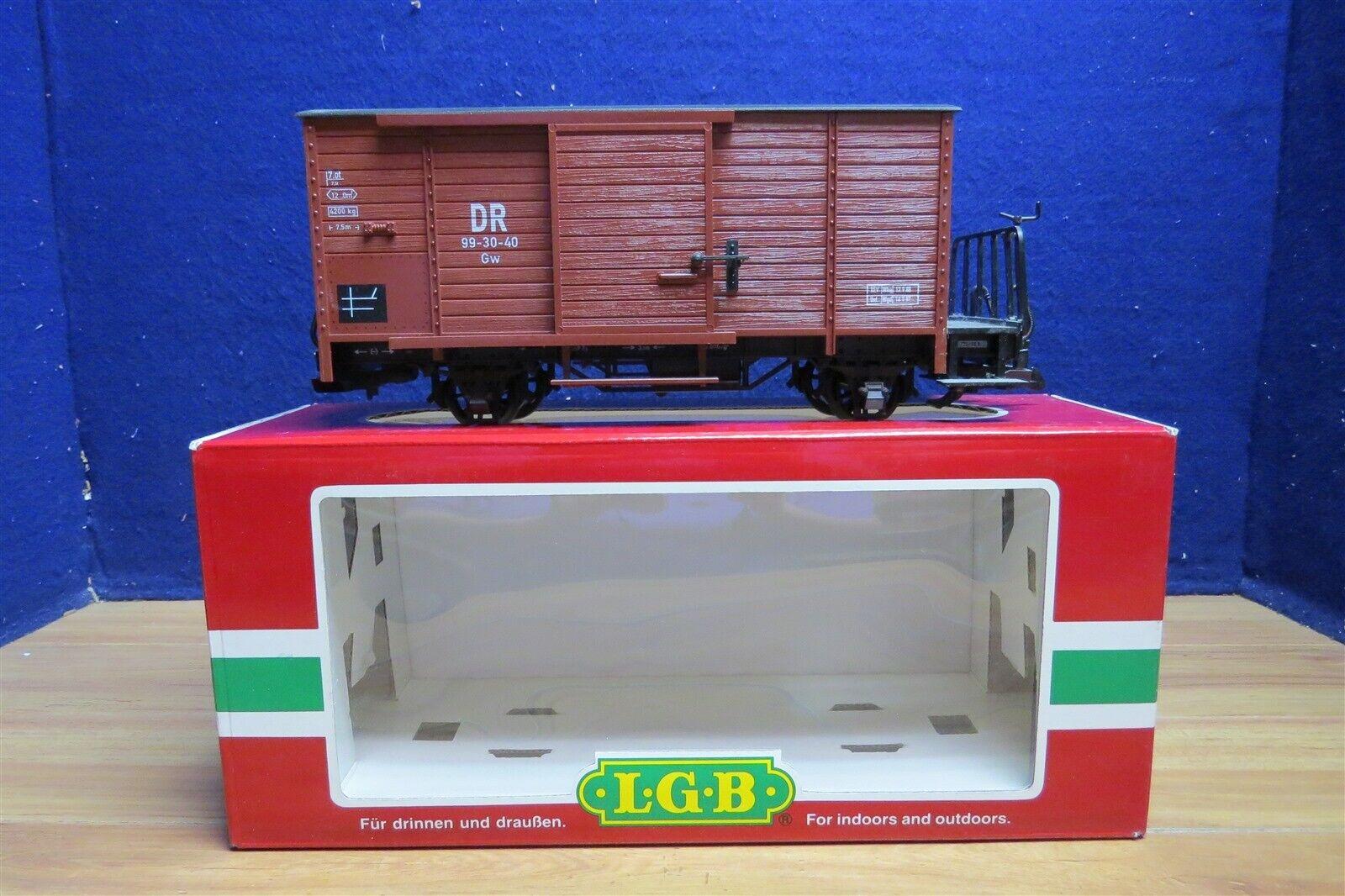 LGB G 46353 DR BOX CAR 579350