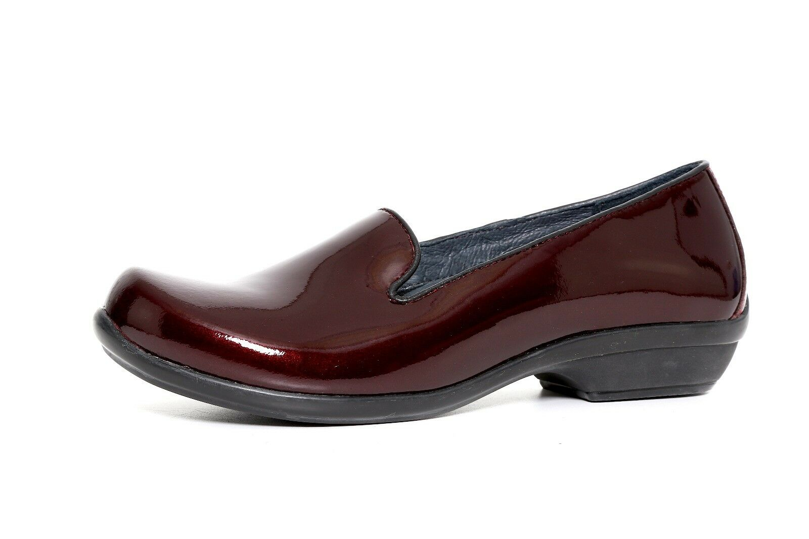 Dansko Women's Burgundy Patent Leather Slip On Shoes 3391 Size 36