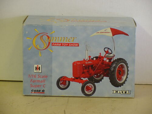 SUMMER  TOY SHOW INTERNATIONAL FARMALL SUPER C TRACTOR DIE-CAST 1//16