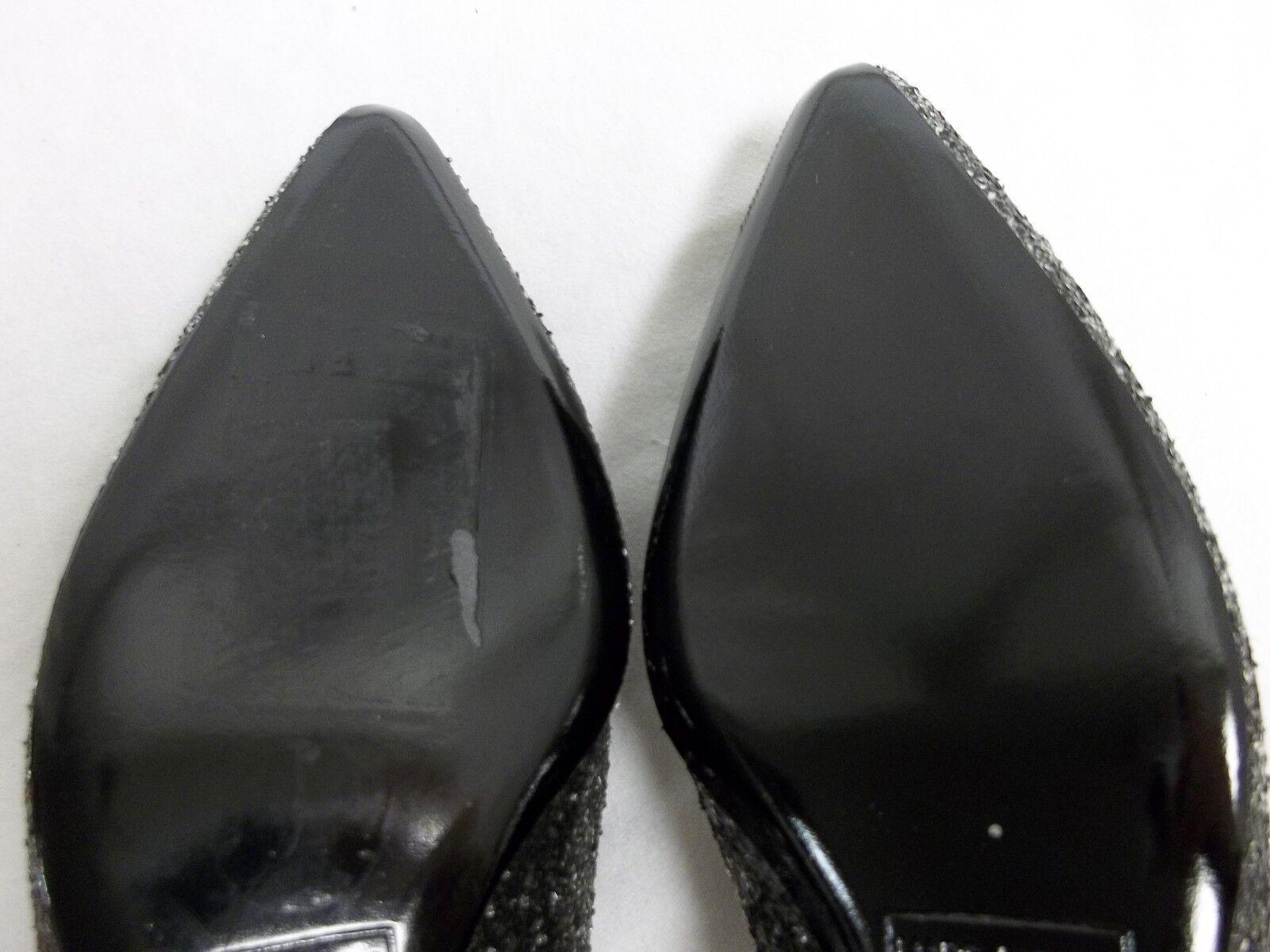 Marc Jacobs Jacobs Marc Größe EU 36 US 6 M MJ21093 Silver Leder Flats New Damenschuhe Schuhes 7cf943
