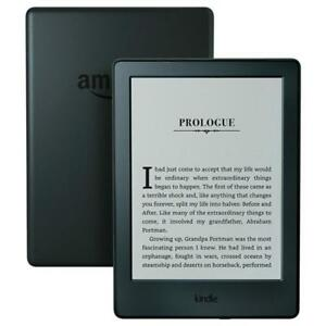 New-Kindle-eBook-Reader-Black-Touchscreen-Wi-Fi-4GB-E-ink-Screen-6-Inch-eReader