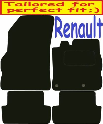 Renault Megane DELUXE QUALITY Tailored mats 2008 2009 2010 2011 2012 2013 2014 2