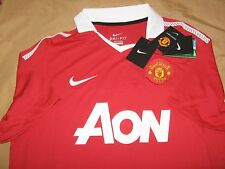 Nike Dri Fit ORIGINAL Manchester United Home Jersey 2009 2010 2011 Size L
