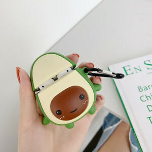 3d Avocado Cute Earphones Case For Apple Airpods Charging Case Protective Cover Ebay