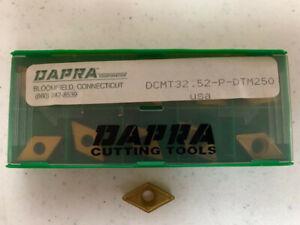 OKE DCMT11T308-OTM OP1215//DCMT32.52-OTM OP1215 CNC Carbide Inserts 10Pcs