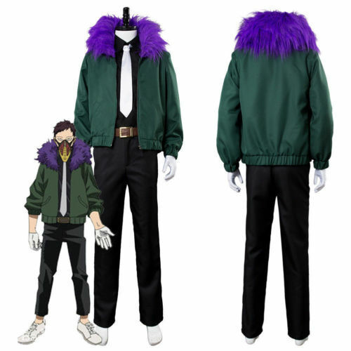 Cosplay My Boku no Hero Academia Kai Chisaki Costume Halloween Jacket