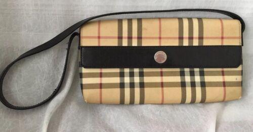 London Nova de Burberry con clutch Auténtico bolso Pochette hombro awA4g