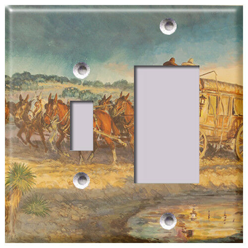 Cowboy Legacy Light Switch Covers Home Decor Outlet