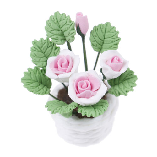 1:12 Dollhouse miniature flowers for dollhouse room living room decor tTS
