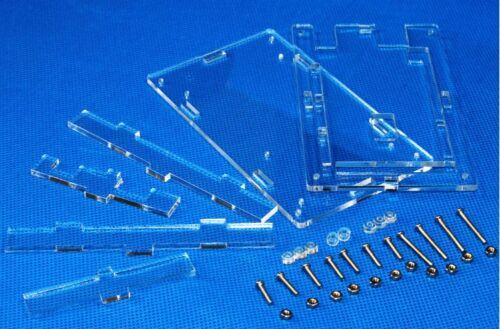 Acrylic Transparent Case Shell Enclosure Gloss Box For Arduino MEGA 2560 R3