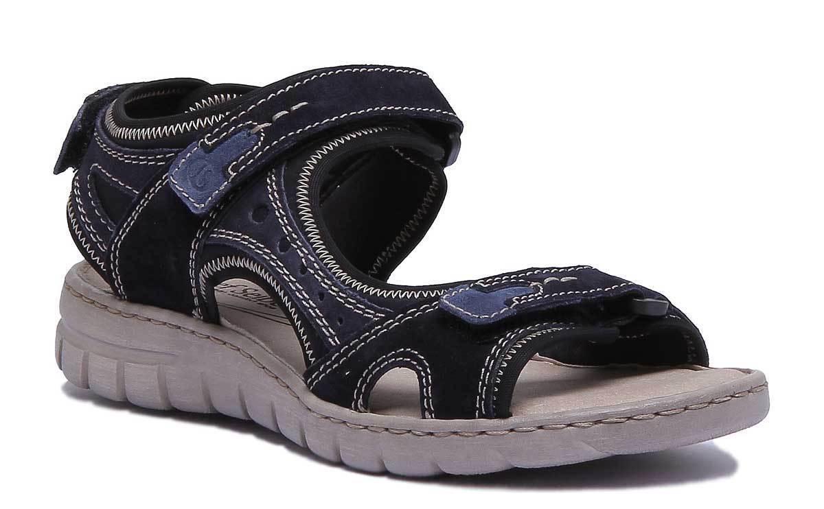 Josef Seibel Stefanie 23 Damens Nubuck Leder Blau 3 Sports Sandales Größe UK 3 Blau - 8 dc3557