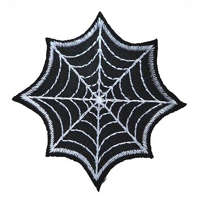 Buttons Spider's Web Gothic Geformt Gestickte Abzeichen Dinge FüR Die Menschen Bequem Machen