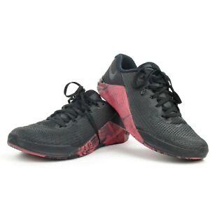 Nike METCON 5 Black Pink Low Training Shoes Men's Size 9