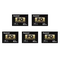 5 Panasonic Pro Mini Dv Tape For Dvc30 Dvc60 Dvc62 Dvc80 Dvx100 Gl2 Camcorder