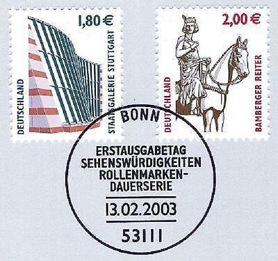 Begeistert Brd 2003: Stuttgart Und Bamberg! Swk Nr. 2313+2314 Mit Bonner Stempel! 1a 1608 Exquisite (In) Verarbeitung