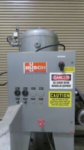 Busch-Used-RC0100-E506-1003-2-Station-Vacuum-Pump-3hp-460V-ZAG-8634