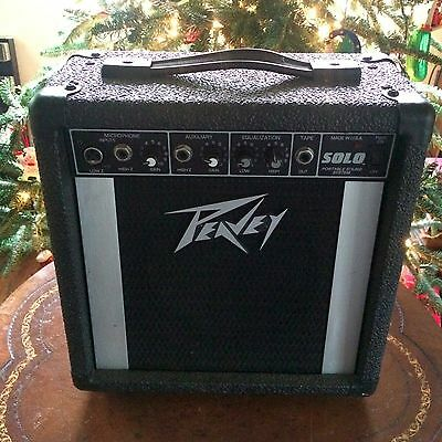 Peavey SOLO Guitar Amp/Portable Sound System Battery Option 10W or AC Option 15W