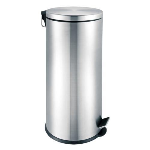 Edelstahl bremermann® Treteimer 30 Liter mit Absenk-Automatik