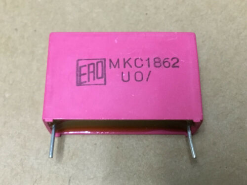 UO Film Capacitor Polycarbonate  10uF 63V 5/% ERO  MKC1862 1 PC