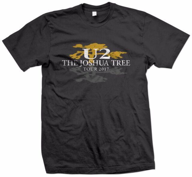 U2 The Joshua Tree Tour 2017 Logo Men/'s T-shirt Size S-2XL