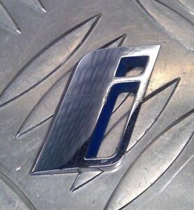 i-Performance-Badge-Emblem-Logo-Genuine-Used-Left-7463585-BMW-G30-5-Series