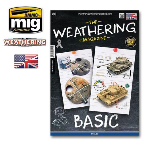 A.MIG4521 BASIC AMMO by Mig Jimenez The Weathering Magazine Issue 22