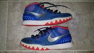 451cd090e8a Nike Kyrie 1 USA Independence Day Shoes 717219-401 Size Youth 7 US ...