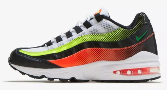 Nike Air Max 95 RF GS Neon Collection Av5138 001 Size 5y Youth