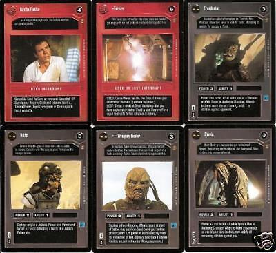 Star Wars CCG Jabbas Palace Card Gran