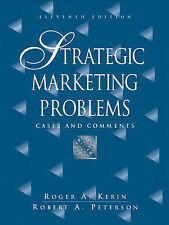 Strategic Marketing Problems: Cases and Comments (11th Edition)-ExLibrary