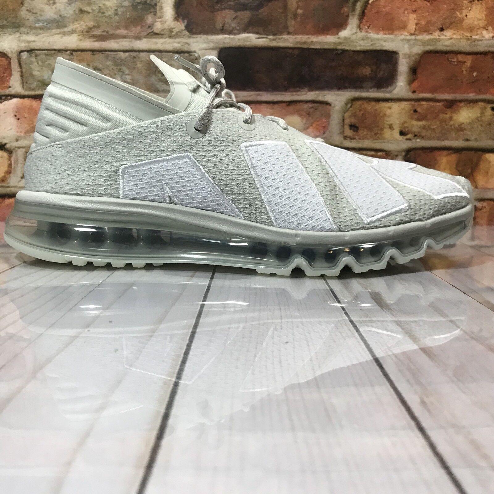 Nike Air Max Flair Herren Größe 10.5 Laufschuhe Hell Knochen Knochen Knochen Weiß Grau e7fc6d