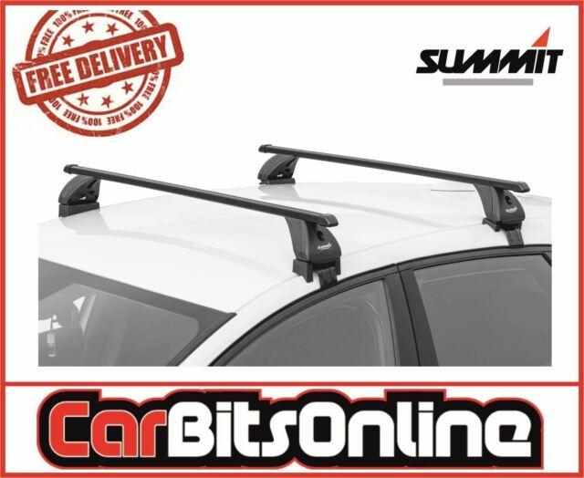 Black Steel Summit SUP-050 Premium Multi Fit Roof Bars Set of 2