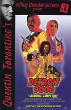DETROIT 9000 Movie POSTER 27x40 C Hari Rhodes Alex Rocco Sally Baker Richard