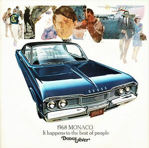 1969 Dodge Polara 500 Hardtop Convertible Sedan Wagon Dealer Sales Brochure