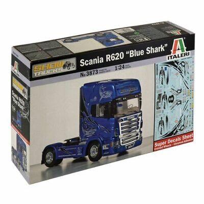 24,2 cm LKW Truck Scania 164L Topclass in  1:24 Italeri 3922 Länge