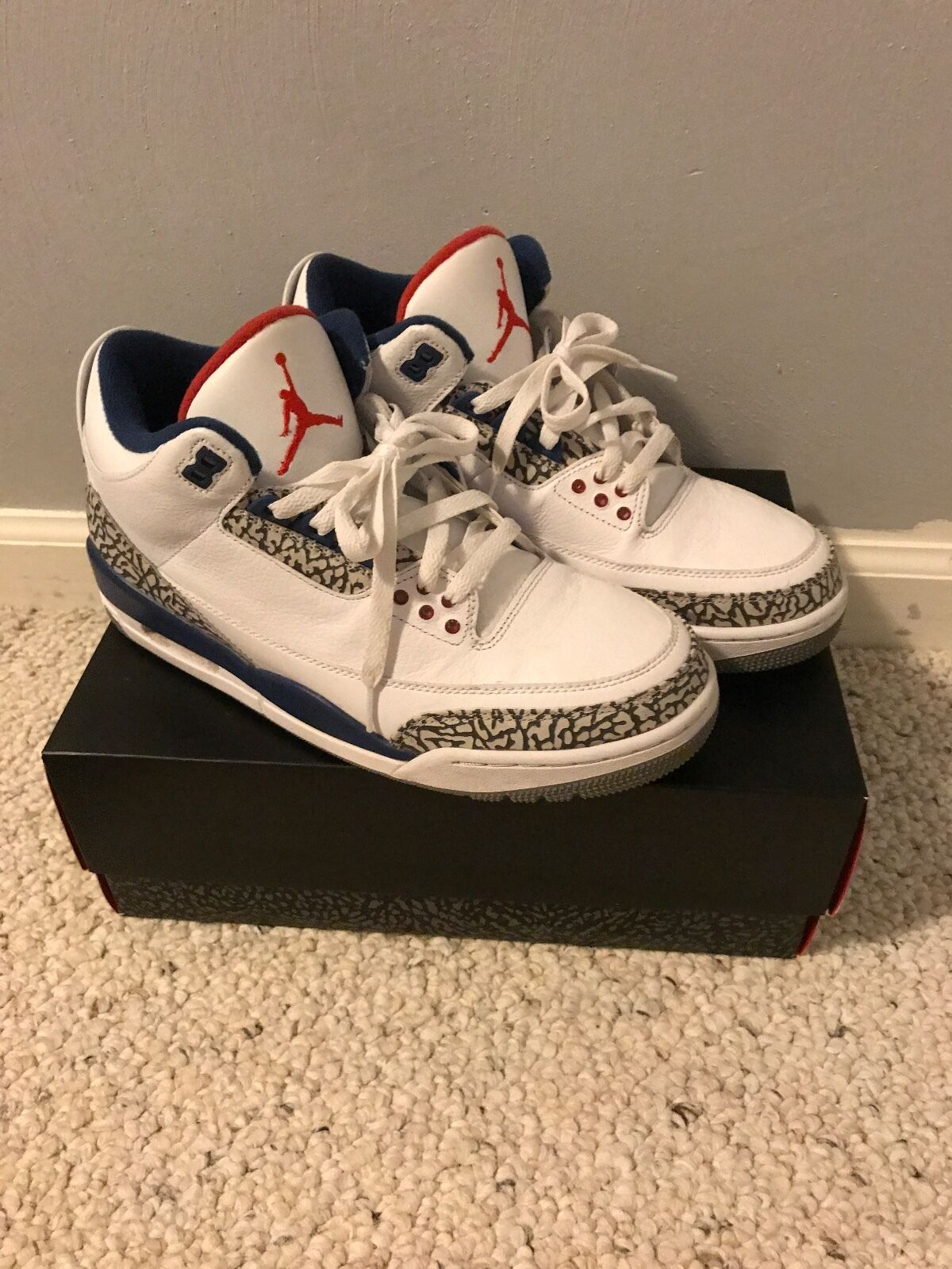 2018 Nike Air Jordan 3 retro popular og confortable el mas popular retro de zapatos para hombres y mujeres dfac1c