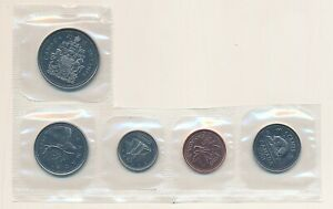 Canada-2001P-1-5-10-25-50-Cents-from-Proof-Like-Set
