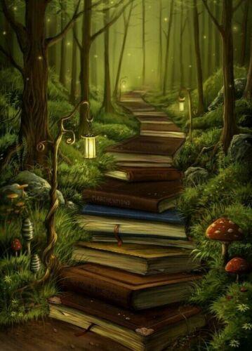 Book Path B//W Cross Stitch Chart BUY 1 GET 1 HALF PRICE