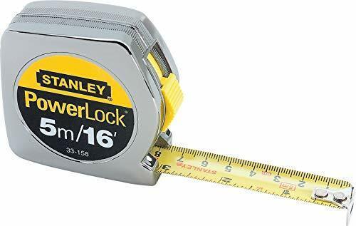 Stanley 33-158 5m//16 x 3//4-Inch PowerLock Tape Rule