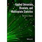 Applied Univariate, Bivariate and Multivariate Statistics by Daniel J. Denis (Hardback, 2015)