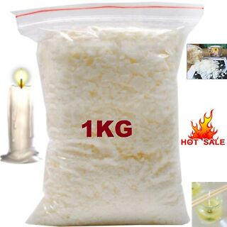 500g Pure Soya Wax for DIY Candle Making Multi Purpose Use Soy Wax Flakes