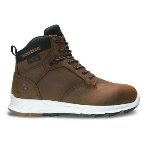 Wolverine Mens Shiftplus Work LX Alloy Toe work Boots Waterproof Leather