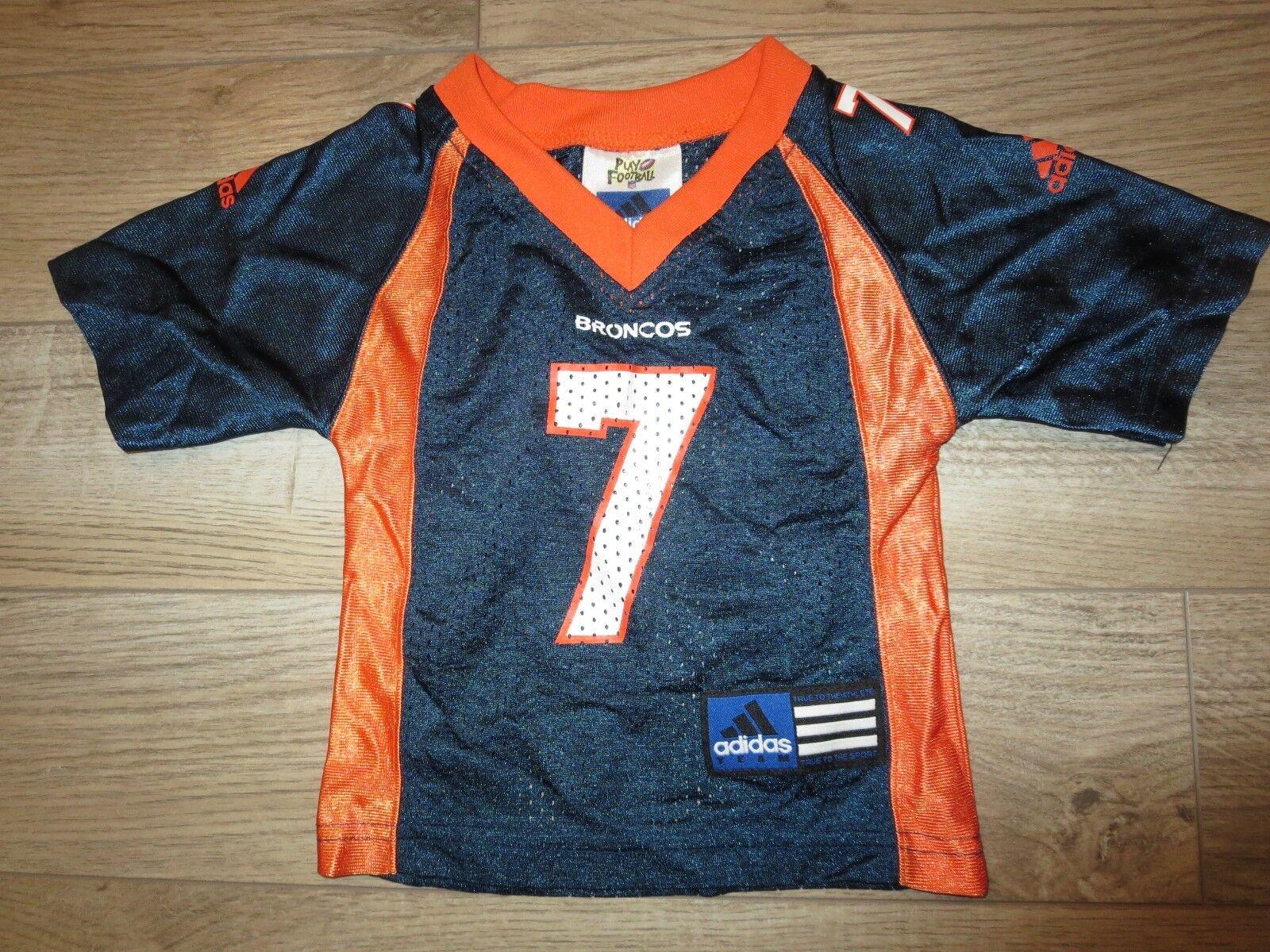 John Elway Denver Broncos NFL Adidas Camiseta Bebé Niño 12m