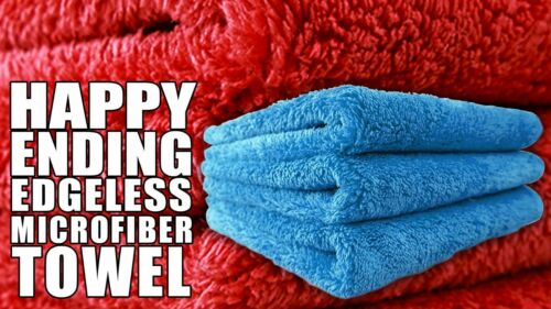 6x Chemical Guys Happy Ending Edgeless Tagless Microfiber Towel 16X16 MIC/_351