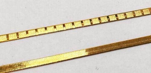 Armband 45//19cm 925 ECHT SILBER vergoldet *** Set Schlangenkette flach Collier